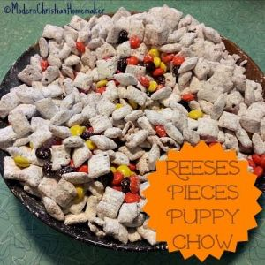 reeses pieces puppy chow