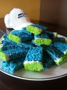 seahawks rice crispies