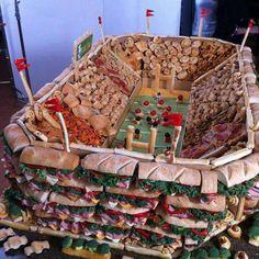 tailgate stadium food