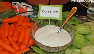 Basketball Party dip