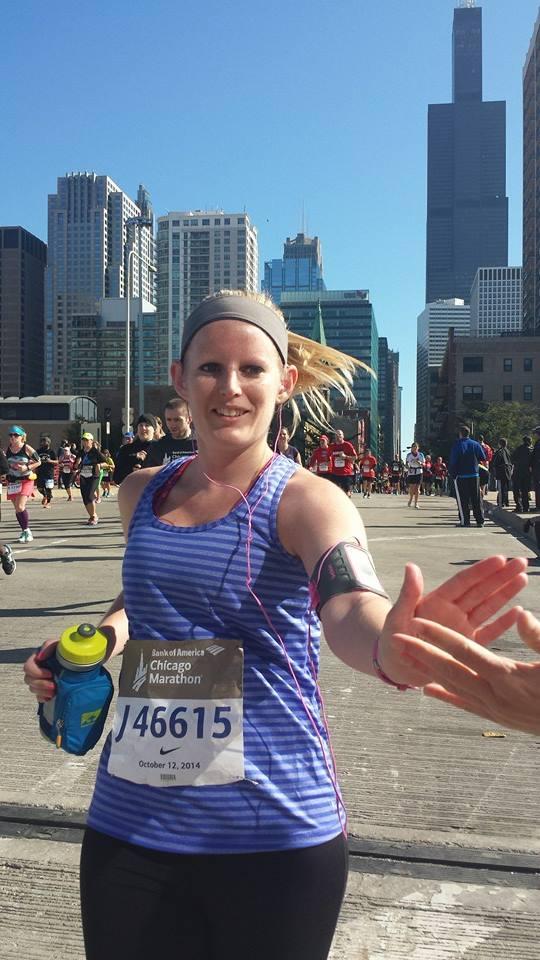 marathon mile 13.1 chicago
