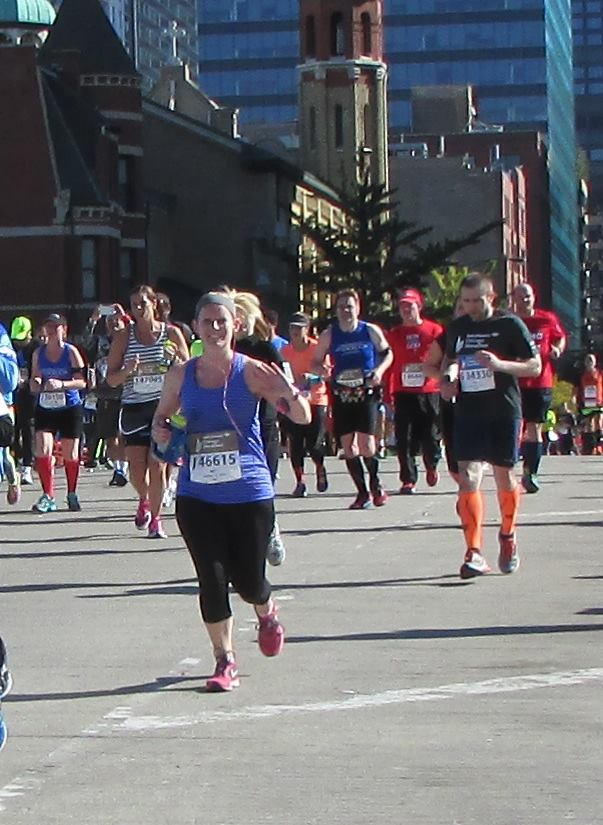 marathon mile 13 chicago
