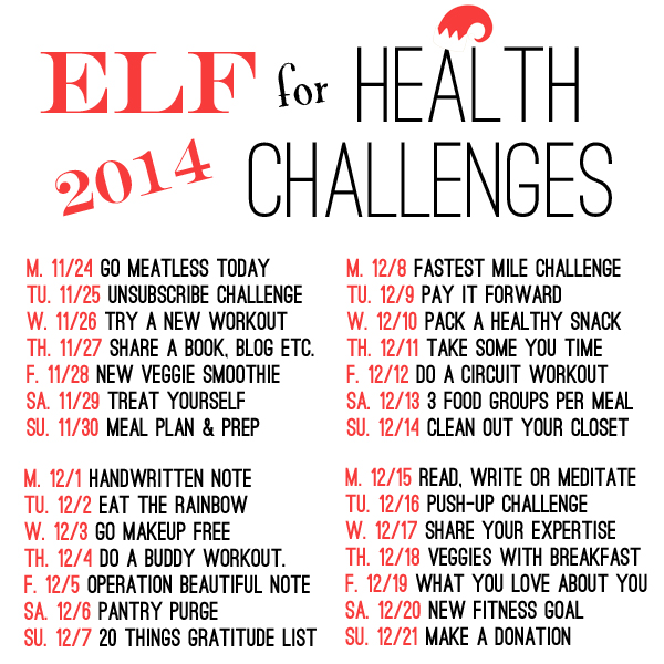 elf 4 health challenges