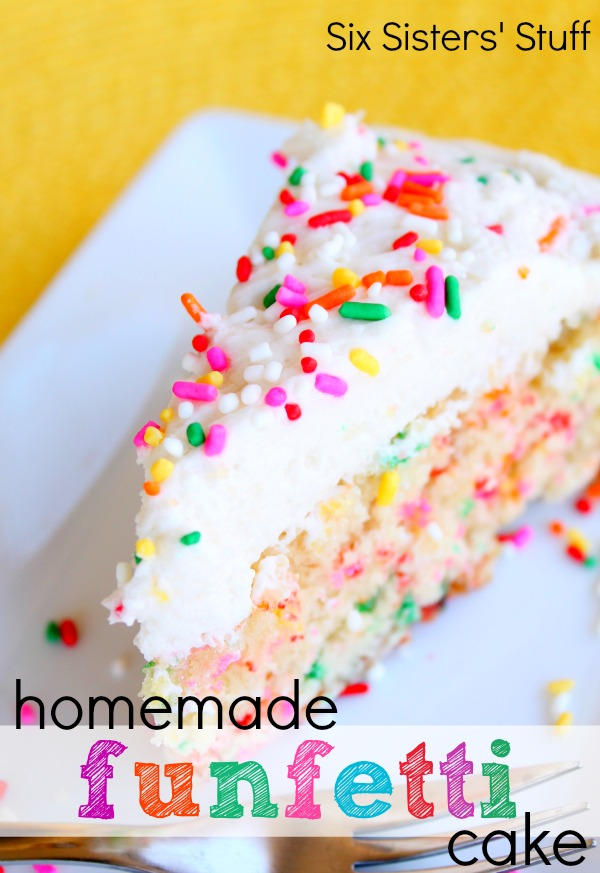 homemade funfetti cake recipe national cake day