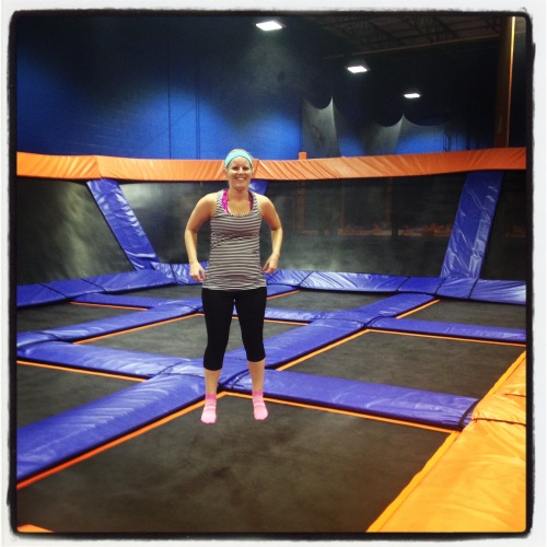 sky zone elmhurst review janabananard indoor trampoline park chicago sky fit fitness class