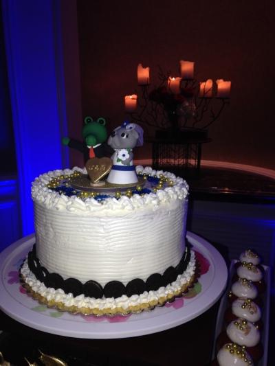 wedding cake topper florida georgetown