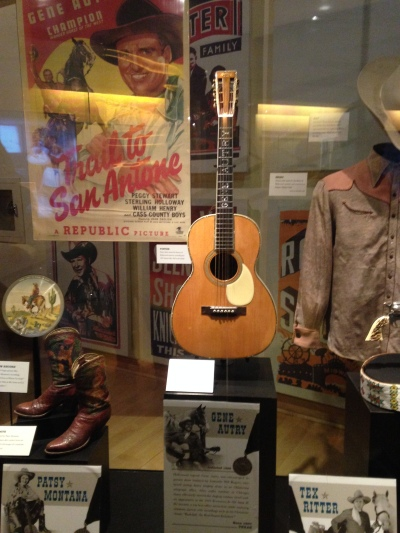 country music hall of fame nashville gene autry