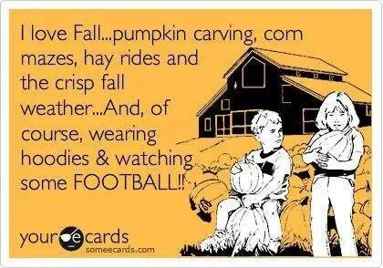 football fall ecard