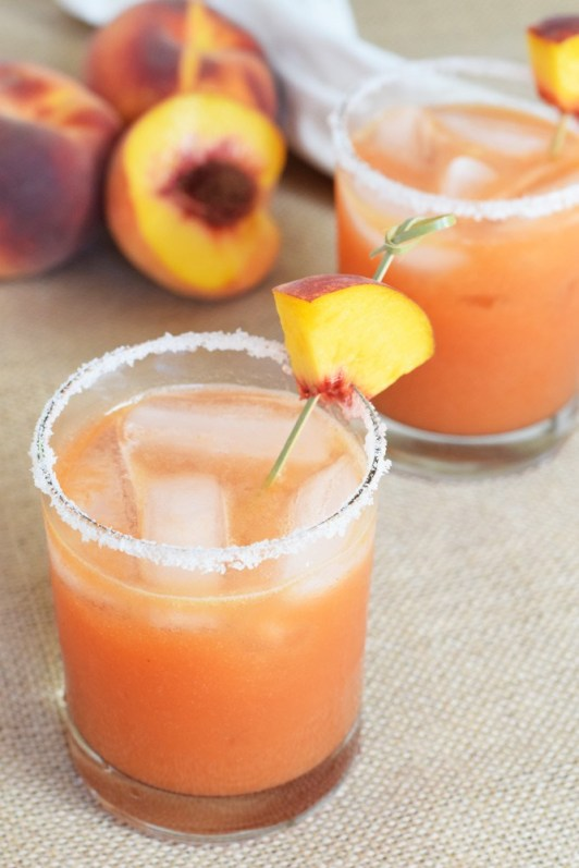 peach margarita recipe national eat a peach day